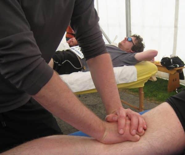 Cours de massage sportif en vidéo à Annecy, Frédéric JULIEN